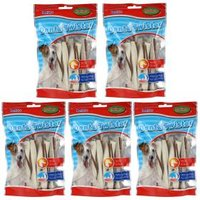 5er-Set Denta Twister Kausticks mit Ente, 100g