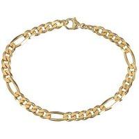 Figaro-Armband 585 Gelbgold ca. 20,5 cm