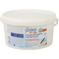 gastro OXI Waschmittel 2,5 kg Pulver im Eimer