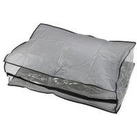 Unterbettkommode grau mit transparentes Fenster
