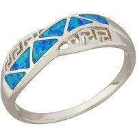 Ring 925 Sterling Silber Opal-Doublette