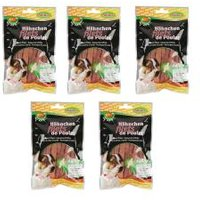 Bubimex 5x Hähnchenbrustfilet Skin&Coat für Hunde