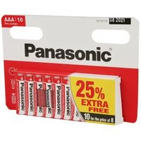 10er Set Panasonic AAA