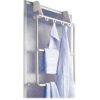 WENKO Handtuchhalter für Tür und Duschkabine