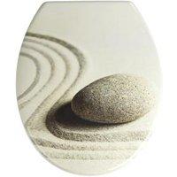 WENKO WC-Sitz Sand and Stone