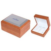 DELMA Uhrenholzbox für 2 Uhren