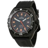 DELMA Herren-Automatikuhr Shell Star Black Edition
