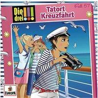 CD Die drei !!! 57 - Tatort Kreuzfahrt Hörbuch