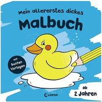 Buch - Mein allererstes dickes Malbuch (Badeente)