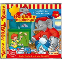 CD Benjamin Blümchen 141 - Nachts in der Erfinderwerkstatt Hörbuch
