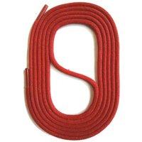 Schnürsenkel rund gewachst 45-150cm, 3mm aus Baumwolle Schnürsenkel rot Gr. 75