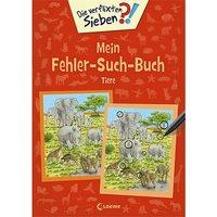Buch - Die verflixten Sieben: Mein Fehler-Such-Buch: Tiere
