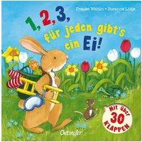 Buch - 1,2,3 jeden gibt's ein Ei!  Kleinkinder