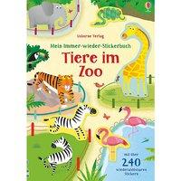 Buch - Mein Immer-wieder-Stickerbuch: Tiere im Zoo