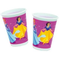 Partybecher Princess Magic Prismatic 200 ml, 8 Stück