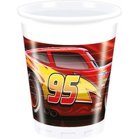 Partybecher Cars The Legend Of The Track 200 ml, 8 Stück