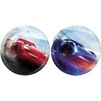 Pappteller Cars The Legend Of The Track 23 cm, 8 Stück