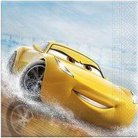 Servietten zweilagig Cars The Legend Of The Track 33 x 33 cm, 20 Stück