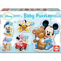 Baby Puzzle Mickey, 5 x 3 bis 5 Teile