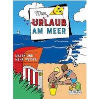 Buch - Mein Urlaub am Meer Malbuch