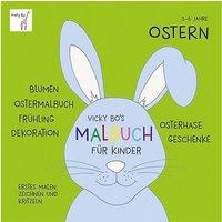 Buch - Vicky Bo's Malbuch Kinder: Ostern  Kleinkinder