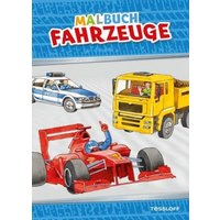 Buch - Malbuch: Fahrzeuge