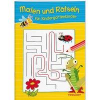 Buch - Malen und Rätseln Kindergartenkinder  Kleinkinder