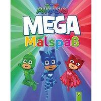Buch - PJ Masks: MEGA Malspaß