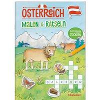 Buch - Österreich: Malen & Rätseln