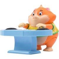 44 Cats Spielfigur Metti mit Schlagzeug orange