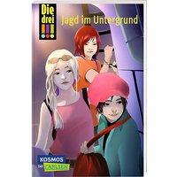 Buch - Die drei !!!: Jagd im Untergrund, Band 22