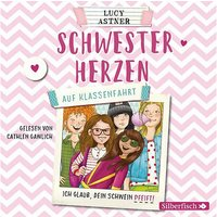 Schwesterherzen: Auf Klassenfahrt, 2 Audio-CDs Hörbuch