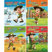 Buch - Nelson Mini Bücher: Ranger Rob, 4 Hefte