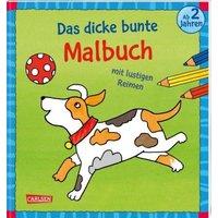 Buch - Das dicke bunte Malbuch mit lustigen Reimen