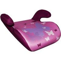 KAUFMANN Sitzerhöhung, Exclusiv, Schmetterling rosa Gr. 15-36 kg