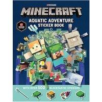Buch - Minecraft Aquatic Adventure Sticker Book