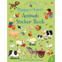 Buch - Poppy and Sam's Animals Sticker Book