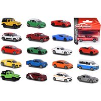 Street Cars Assortment, 18-sort. bunt