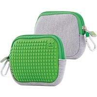 Pixie Crew: Universaltasche, grau/grün
