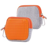 Pixie Crew: Universaltasche, grau/orange