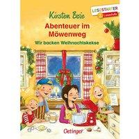 Buch - Lesestarter: Abenteuer im Möwenweg - Wir backen Weihnachtskekse, 2. Lesestufe