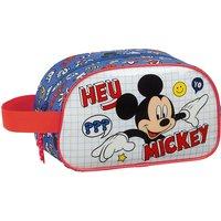 Kulturbeutel Mickey Mouse Hey, Mickey! blau/rot