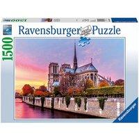Puzzle 1500 Teile, 80x60 cm, Malerisches Notre Dame