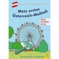 Buch - Mein erstes Österreich-Malheft