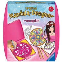 Mandala-Designer® Mini Set mit 1 Schablone, Romantic