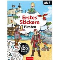 Buch - Erstes Stickern Piraten
