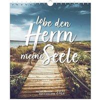 Buch - Lobe den Herrn, meine Seele 2021 - Postkartenkalender