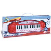 Elektronisches Keyboard rot