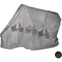 Fahrradgarage aus Kunststoff grau