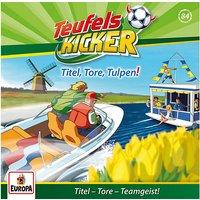 CD Die Teufelskicker 84 - Titel, Tore, Tulpen! Hörbuch